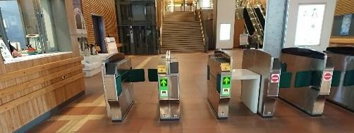 JR旭川駅改札