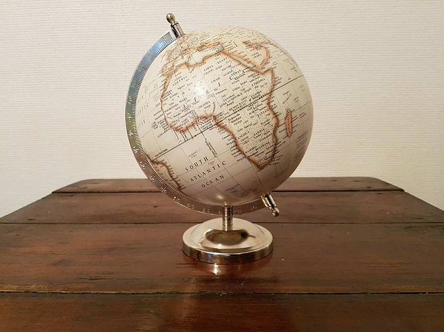 シンプル地球儀