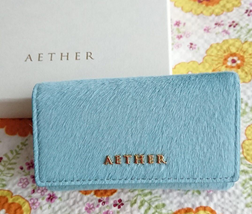 エーテル AETHER 財布 キーケース