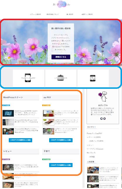 簡単サイト型ホームページ 作り方